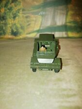 Dinky Toys  No 673 Damilier Scout Car Very good condition with driver figure.