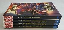 X-MEN: AGE OF APOCALYPSE #1 2 3 + PRELUDE MARVEL GRAPHIC NOVEL FULL RUN LOT