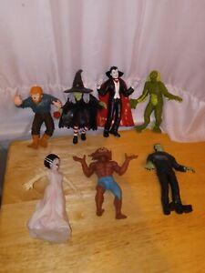Imperial jiggler Lot of 7 2005 Universal Studios Monster Dracula Frankenstein