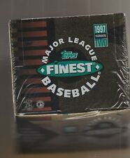 1997 Topps Finest Baseball Box Series 2 Factory Sealed Tough Series