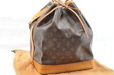 Authentic Louis Vuitton Monogram Noe Shoulder Bag M42224 LV T599