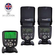 2 x Yongnuo YN-560 IV Flash YN-560 TX II Wireless Manual Controller For Canon UK