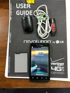 LG Revolution VS910 - 8GB int. /128GB card  - Black (Verizon) Smartphone