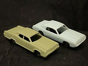 2 Vintage 60s Post Cereal Premium Give Away JVZ Co Cougar & Mercury Marquis Nice