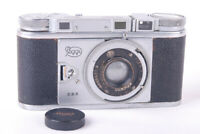Good Peggy Stuttgart II w/Kleinbild-Plasmat 50mm f/2.7 Hugo Meyer Makro Plasmat