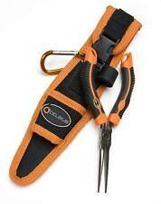 """Celsius - 6.5"""" Inch Fine Needle Nose Pliers - Fishing Tool & Sheath"""