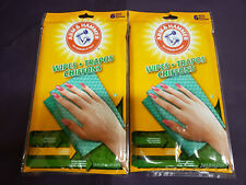Arm and Hammer Towel Cleaning Wipes Lot of 2 Pack Multi-Use 12 pieces Reusable