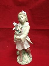 Lladro Morning Melodies New Girl Holding Flower Pot 01008362