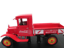 Coca-Cola Motorcity 1923 Red Ford Model T w/ Handcart and a Bottles  - BRAND NEW