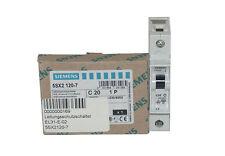 SIEMENS 5SX2120-7 C20 Leitungsschutzschalter T55 230/400V 6kA 1-polig C 20A NEW