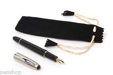 Click Torpedo Black Fountain Pen With Converter & 2 Cartridge - BUY 1 GET 1 FREE