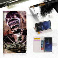 Iron Maiden Wallet Case Cover For Samsung Galaxy Note 8 - A014