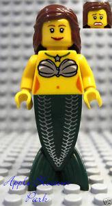 NEW Lego Female MERMAID MINIFIG - Brick Beard Pirate Ship Girl Minifigure 6243