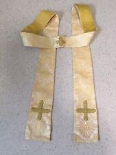 Gold Brocade Priest's Stole