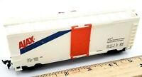 Ho Scale Train AJAX Trainload of Profits Railroad Freight BOX CAR W/ Slide Doors