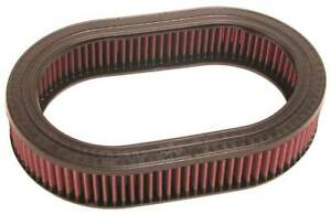 K&N Oval Air Filter part #E-2940 for 1975-1988 Toyota Land Cruiser 4.2L L6 CARB