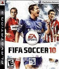 PS3 FIFA Soccer 10 Video Game Playstation Network Online Multiplayer Action 2010