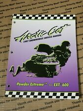Arctic Cat Snowmobile 1997 Powder Extreme, Ext 600 Service Manual 2255-531