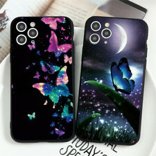 Moon Butterfly Soft Silicone Cover For iPhones 11 X Samsung Huawei Xiaomi Case