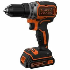 Black+Decker BL186K-QW Trapano avvitatore brushless batteria litio18V valigetta