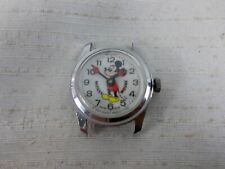 Vintage Bradley Mickey Mouse Watch Mechanical Windup Wristwatch Working Swiss