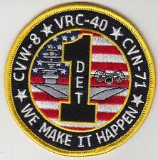 VRC-40 RAWHIDES WE MAKE IT HAPPY DET ONE PATCH