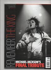 Michael Jackson Remember The King Final Tribute 2010 Magazine