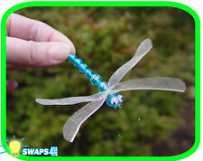"""Dragonfly (Blue)  """"Girl Scout"""" or """"Boy Scout"""" SWAPS  Craft Kit  by Swaps4Less"""