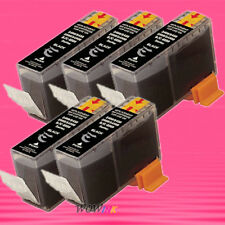 5P BCI-3e BK INK CARTRIDGE FOR CANON 6200 6500 F30 i550