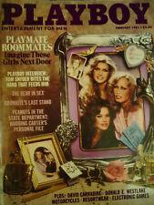 Playboy Magazine February 1981-Girls Next Door