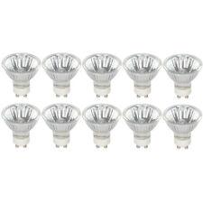 [10 Pack] Simba Lighting® Halogen GU10 120V 50W Bulbs MR16 with Cover Glass