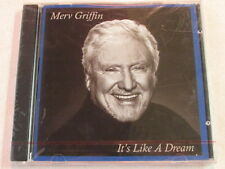 MERV GRIFFIN IT'S LIKE A DREAM OOP RARE MUSIC CD TV TALK SHOW HOST GAME SHOWS