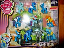 My Little Pony Wonderbolts Cloudsdale Mini Collection 10 Figures Set Target Excl