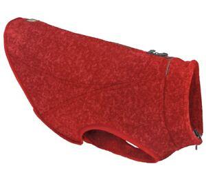 Kurgo Dog Jacket Reversible Winter Jacket for Dogs Pet Coat - Heather Red, Small