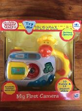 My First Camera Plays 10 Tunes 12 Safari Animal Slides Flashing Lights Child Toy
