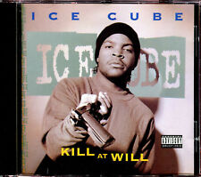 RARE  ICE CUBE - KILL AT WILL CD ALBUM 1990