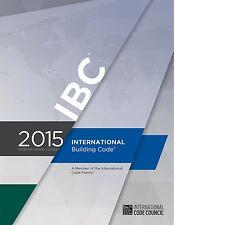 2015 International Building Code (IBC) by International Code Council PDF CD