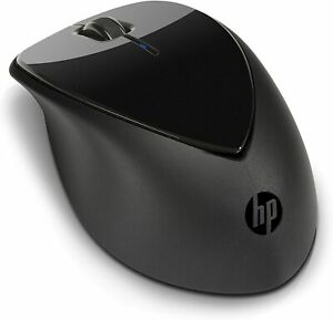 New HP Wireless Mouse X4000b Bluetooth with Laser Sensor (Black)