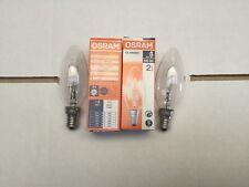 2 x Kleenmaid 600mm Slide Away Rangehood Lamp Light Bulb Globe Rh1 Rh1A Rh1X