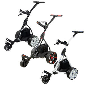 2021 Ben Sayers Electric Golf Trolley Full Range FREE GIFTS Battery Colours Cart