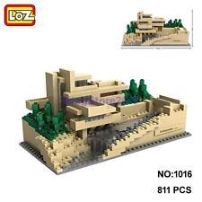LOZ Architecture 1016 Fallingwater Pennsylvania Nano Block Diamond Building Toy