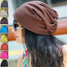 Cotton Blend Beanie Hats for Women