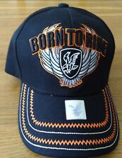 ' BORN TO RIDE ' BASEBALL CAP.