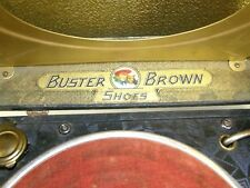 Vintage Buster Brown Shoe Store Advertising Portable Phonograph Record Player