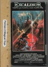 Excalibur (Vhs, 1997) John Boorman The Story of King Arthur and the Holy Grail