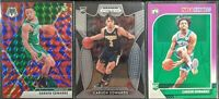 Lot of (3) Carsen Edwards, Including Mosaic Blue Reactive, Hoops purple & Draft