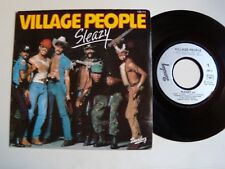 "VILLAGE PEOPLE : Sleazy / Save me (up-tempo) 7"" 45T 1979 French BARCLAY 128111"
