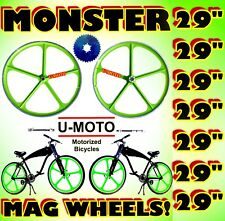 """29"""" Wheels For 2-Stroke 66Cc/80Cc Motorized Bike Kit And Bicycles"""