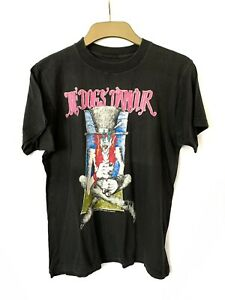 The Dogs D'amour Tyla 1990 Brockum Tshirt Band Tour Back On The Juice Black