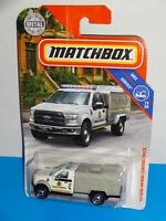 Matchbox 2019 MBX Service Series #81 '10 Ford F-150 Animal Control Truck White